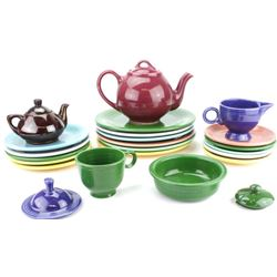 Collection of misc. Fiesta ware all pieces good,