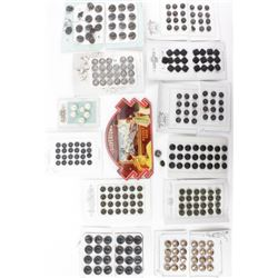 Collection of antique buttons and pack of