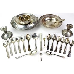 Lot of misc. sterling silver marked items.