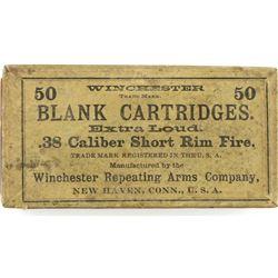 Winchester .38 cal short rim fire
