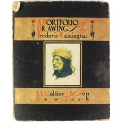 """C. 1904 P.F. Collier """"A Portfolio of Drawings"""