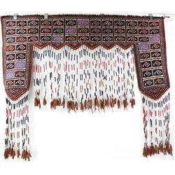 Hand woven Purdah wool horse blanket
