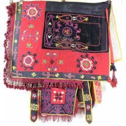 Uzebkistan vintage horse blanket