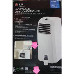 LG PORTABLE AIR CONDITIONER (NO REMOTE)
