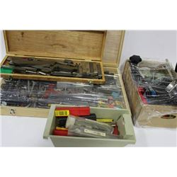 4 BOXES OF PRECISION TOOLS