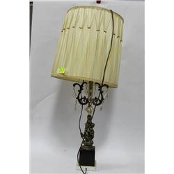 CHANDELIER STYLE BRASS LAMP