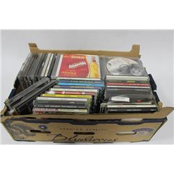 BOX OF ASSORTED CD'S