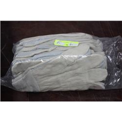 PK OF 12 NEW WORKGLOVES X 10