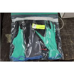 PK OF FOAM LATEX GARDEN GLOVES AS THEY COME