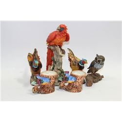 FLAT OF VINTAGE BIRDS