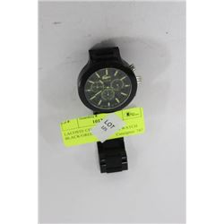 LACOSTE CHRONOGRAPH BLACK/GREEN DIAL MENS WATCH