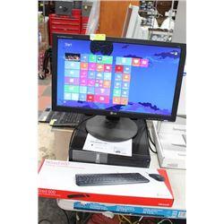BUSINESS CLASS DELL OPTIPLEX DESKTOP/INTEL i5/8 GB