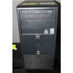 HP COMMERCIAL TOWER 2GB RAM, 160GB HARDDRIVE
