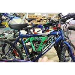 BLUE SUSPER CYCLE MOUNTAIN BIKE