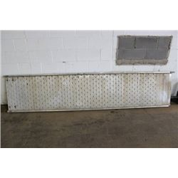 ALUMINUM TRUCK LOADING RAMP (OUT IN LOADING BAY)