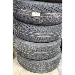 SET OF 4 MICHELIN HYDROEDGE TIRES  195/60 R15