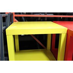 YELLOW END TABLE X2