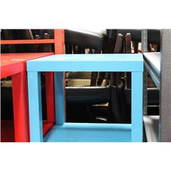 BLUE END TABLE X3