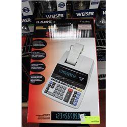 SHARP EL-2630 ELECTRONIC PRINTING CALCULATOR