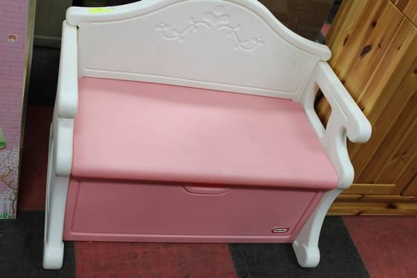 Collections Of Little Tikes Storage Bench Pink