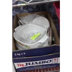 12 PIECE CONNING WARE CASSEROLE DISH AND POTS