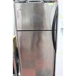 "FRIGIDAIRE TOP MOUNT S/S FRIDGE 30""W X 65 1/2""H"