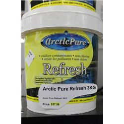 CONTAINER OF ACRCTIC PURE REFRESH FOR SPA