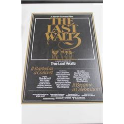 """THE LAST WALTZ"" FRAMED PICTURE"