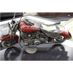 1:18 SCALE DIE CAST METAL HARLEY MOTORCYCLE