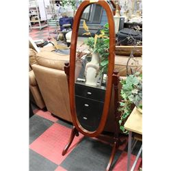 FULL LENGTH SWIVEL MIRROR