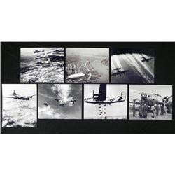 7 Aircraft Photos - Bombers, Blimp, Beoings, Skyraider