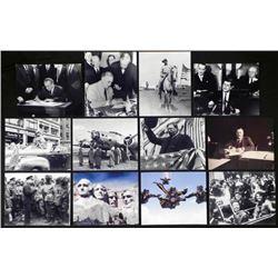 12 Great Presidents Photos - Roosevelt Eisenhower, Bush