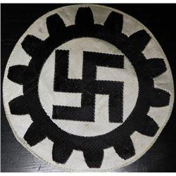 ORIGINAL NAZI DAF ATHLETIC SPORT SHIRT PATCH