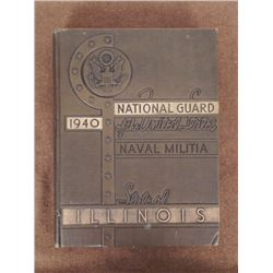 EARLY WWII ILLINOIS NATIONAL GUARD-1940-NAVY MILITIA