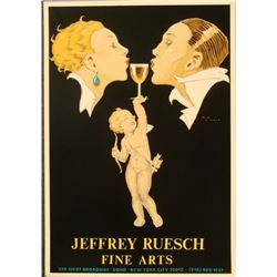 Rene Vincent : Cupid Poster Art Deco Print