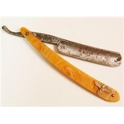 Vintage Solingen Straight Shaving Razor Blade Wehrmacht