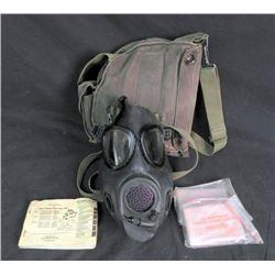Gulf War US Army Chemical-Biological Field Mask M17A1