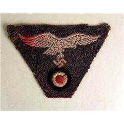 NAZI LUFTWAFFE M43 CAP EAGLE, SWASTIKA AND COCKADE
