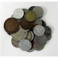35 Old European Coins- Many Countries