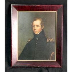 Frmd Pic of 1800's Naval Admiral Major Biddle by Sully