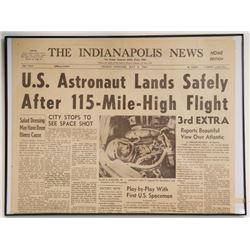 US Astronaut Lands Safely After 115 Mile High Flight