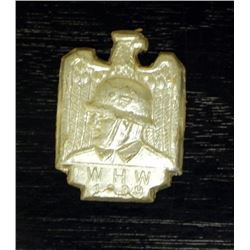 NAZI 1939 WEHRMACHT WHW MEDAL-PINBACK