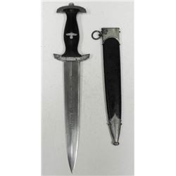 Nazi SS Dagger/Knife with Scabbard WWII