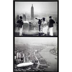 2 New York Photos - Empire State Building, Manhattan