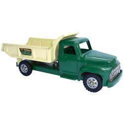 "Toy truck, Buddy L Hydraulic Heavy Hauling Dumper, pressed steel, c.1960's, Near-Mint cond, 20.5""L."