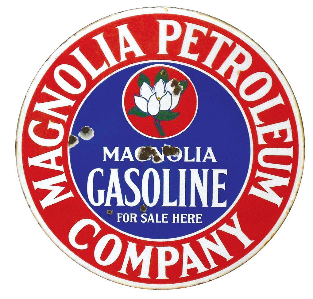 Magnolia Gasoline Sign