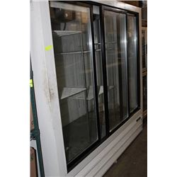 GENERAL 3 SLIDING GLASS DOOR COOLER