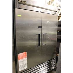 S/S DOUBLE DOOR TRUE FREEZER