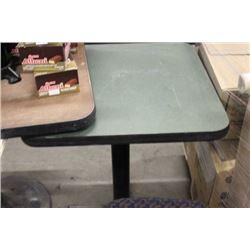 (2) SEATER RESTAURANT TABLE