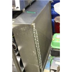 STAINLESS STEEL HOOD FOR DISHWASHER